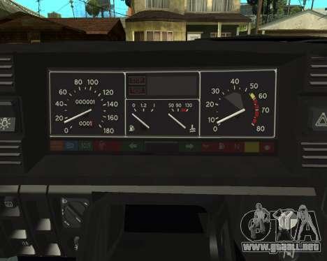 Vaz 21099 ARMNEIAN para la vista superior GTA San Andreas