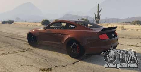 GTA 5 Ford Mustang GT Premium HPE750 Boss vista lateral izquierda