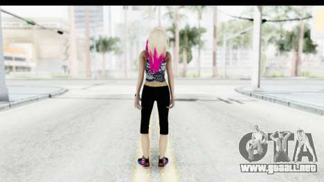 Summer Ombre Hair para GTA San Andreas tercera pantalla