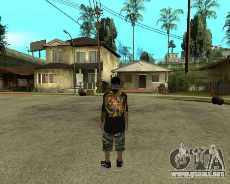 New Armenian Skin para GTA San Andreas segunda pantalla
