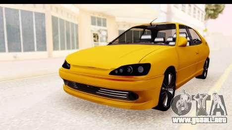 Peugeot 306 GTI para la visión correcta GTA San Andreas