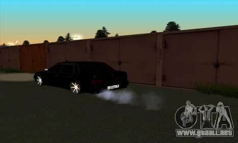 2115 para GTA San Andreas vista hacia atrás
