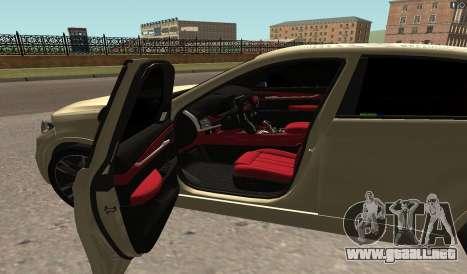 BMW X6M Bulkin para GTA San Andreas left