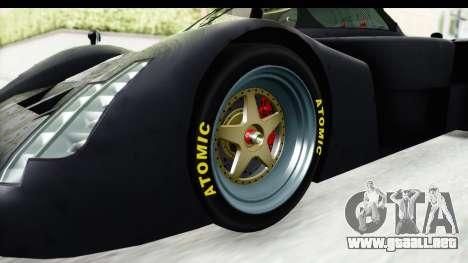 GTA 5 Annis RE7B para GTA San Andreas vista hacia atrás