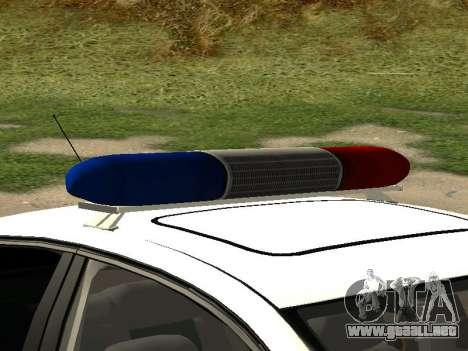 Volkswagen Passat ДПС para la visión correcta GTA San Andreas