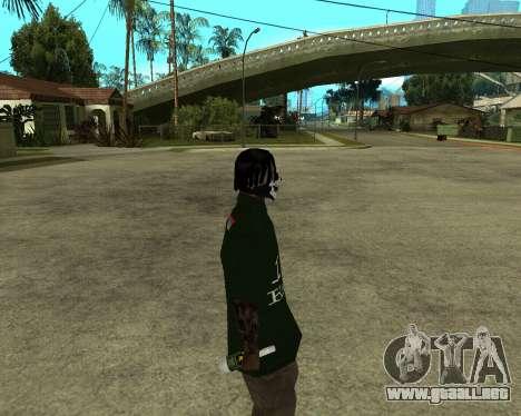 Armenian Skin para GTA San Andreas sucesivamente de pantalla