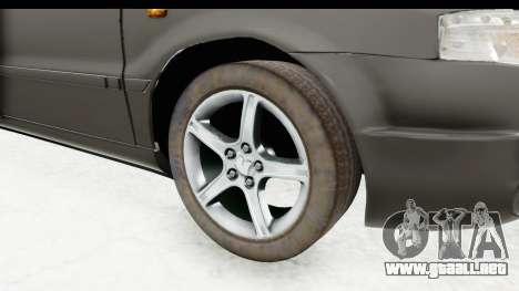 Ikco Samand Pickup v1 para GTA San Andreas vista hacia atrás