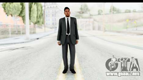 Messi Formal v2 para GTA San Andreas segunda pantalla