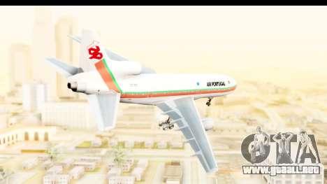Lockheed L-1011-100 TriStar TAP Portugal para GTA San Andreas left