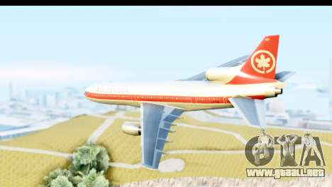 Lockheed L-1011-100 TriStar Air Canada para GTA San Andreas left