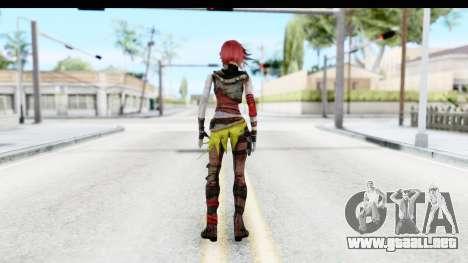 Borderland - Lilith para GTA San Andreas tercera pantalla