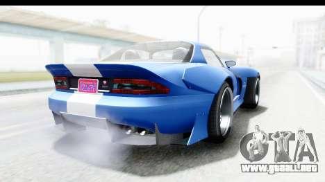 GTA 5 Bravado Banshee 900R Mip Map para GTA San Andreas left