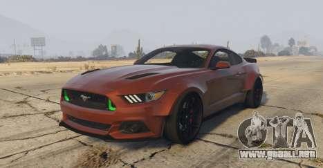 Ford Mustang GT Premium HPE750 Boss para GTA 5