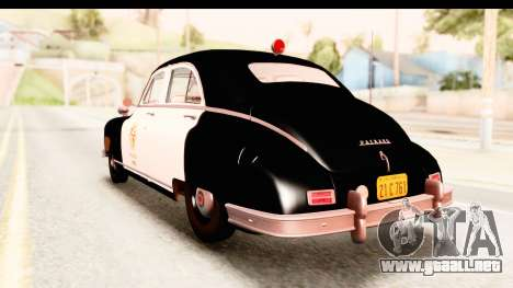 Packard Standart Eight 1948 Touring Sedan LAPD para GTA San Andreas left