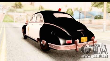 Packard Standart Eight 1948 Touring Sedan LAPD para GTA San Andreas left