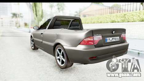 Ikco Samand Pickup v1 para GTA San Andreas left
