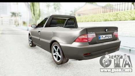 Ikco Samand Pickup v1 para GTA San Andreas left