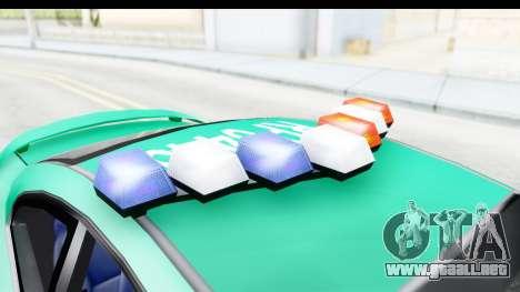 Pontiac GTO 2006 Carabineros De Chile para visión interna GTA San Andreas