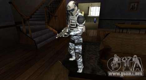 Elite GENSEC PAYDAY 2 SWAT Unit para GTA San Andreas segunda pantalla