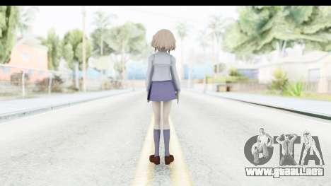 Ohana Matsumae (Hanasaku Iroha) para GTA San Andreas tercera pantalla