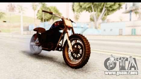 GTA 5 Western Cliffhanger Custom v2 IVF para la visión correcta GTA San Andreas
