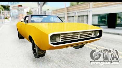 Imponte Dukes 1971 para la visión correcta GTA San Andreas