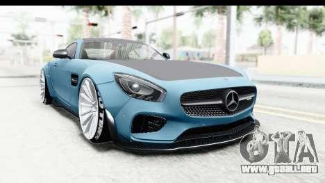 Mercedes-Benz AMG GT Prior Design para la visión correcta GTA San Andreas
