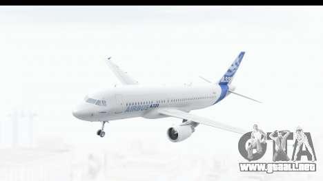 Airbus A320-200 Industrie MSN 1 2005 - 2012 para GTA San Andreas
