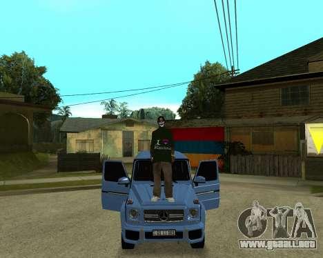 Armenian Skin para GTA San Andreas sexta pantalla