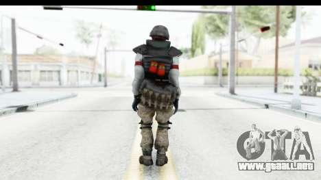 The Division Last Man Battalion - Grenadier para GTA San Andreas tercera pantalla