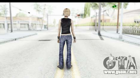 Silent Hill 3 - Heather Sporty Black Pennywise R para GTA San Andreas tercera pantalla