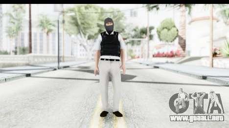 Kane and Lynch 2 - Bandit in Mask v1 para GTA San Andreas segunda pantalla