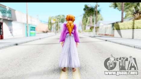 Kenshin v1 para GTA San Andreas tercera pantalla