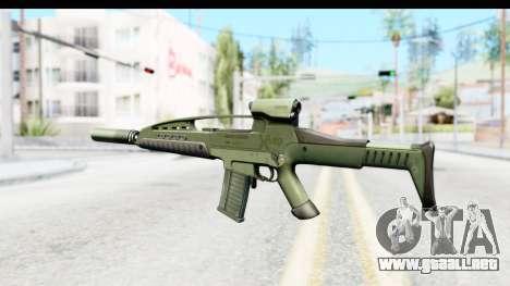 H&K XM8 Silenced para GTA San Andreas segunda pantalla