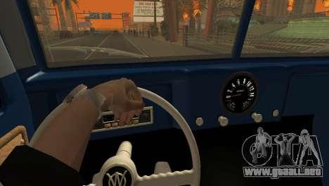 Jeep Station Wagon 1959 para visión interna GTA San Andreas