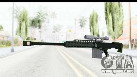 GTA 5 Vom Feuer Heavy Sniper para GTA San Andreas