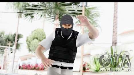 Kane and Lynch 2 - Bandit in Mask v1 para GTA San Andreas