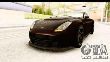 GTA 5 Dewbauchee Rapid GT SA Style para la visión correcta GTA San Andreas