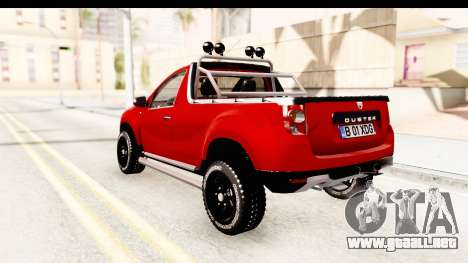 Dacia Duster Pickup para GTA San Andreas left