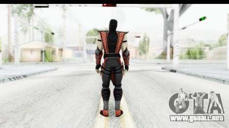 Mortal Kombat vs DC Universe - Ermac para GTA San Andreas tercera pantalla