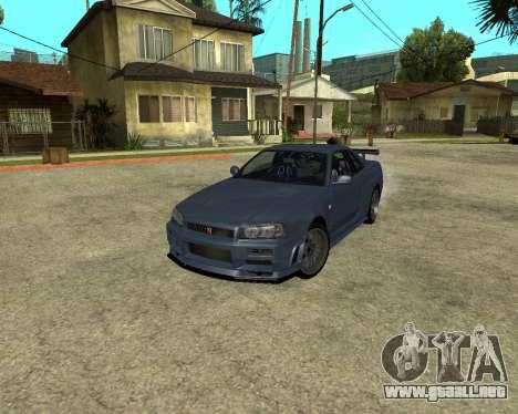 Nissan Skyline Armenia para GTA San Andreas