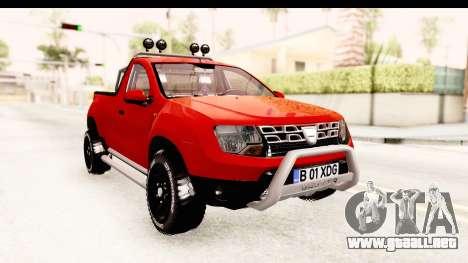 Dacia Duster Pickup para la visión correcta GTA San Andreas