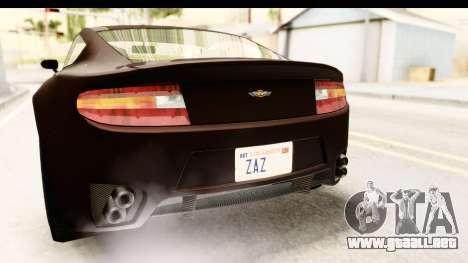 GTA 5 Dewbauchee Rapid GT SA Style para la vista superior GTA San Andreas
