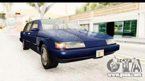 Solair Sedan para GTA San Andreas
