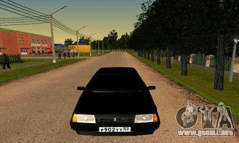 2109 para la vista superior GTA San Andreas