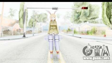 Charlotte (Strike Witches) para GTA San Andreas segunda pantalla
