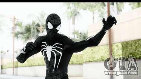 Spider-Man PS4 E3 Black Suit Edition para GTA San Andreas