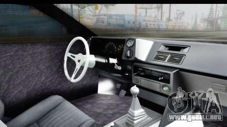 MGSV Phantom Pain Firetruck para visión interna GTA San Andreas