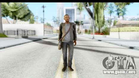I Am Legend - Will Smith v2 Fixed para GTA San Andreas segunda pantalla