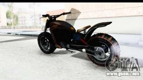 GTA 5 Western Gargoyle Custom v1 para la visión correcta GTA San Andreas